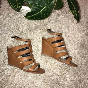 •JustFab• Wedge Sandals